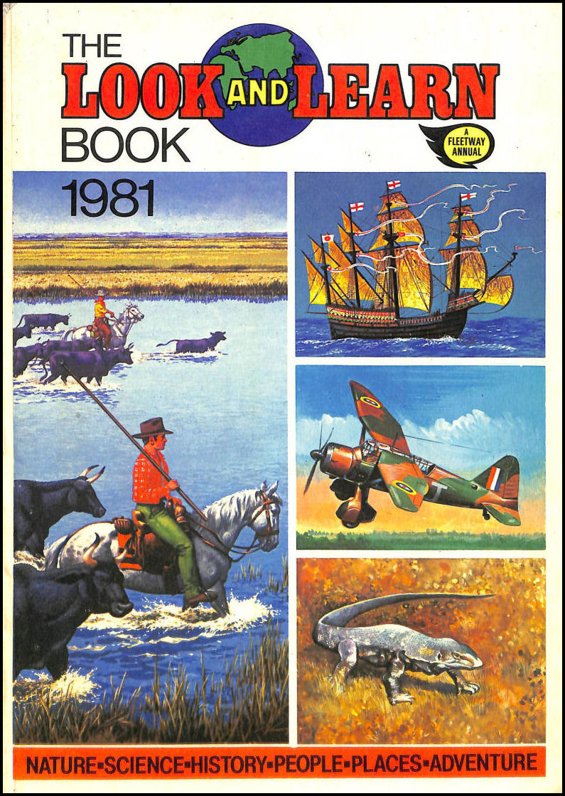 Look and Learn Book 1981 (Annual), IPC Magazines Fleetway [Editor]
