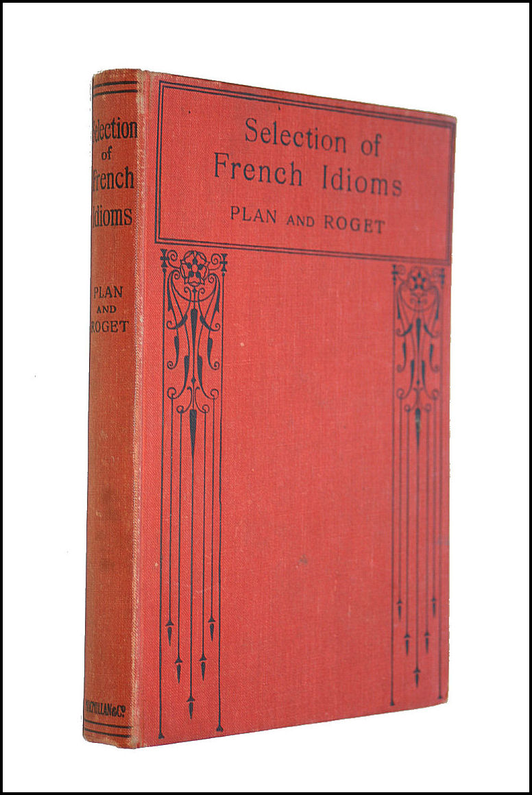 Image for Macmillan's selection of French idioms,