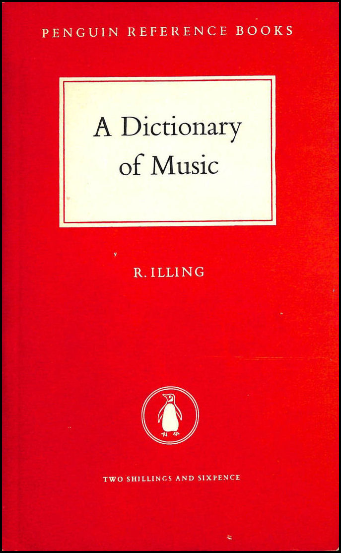 Image for A dictionary of music