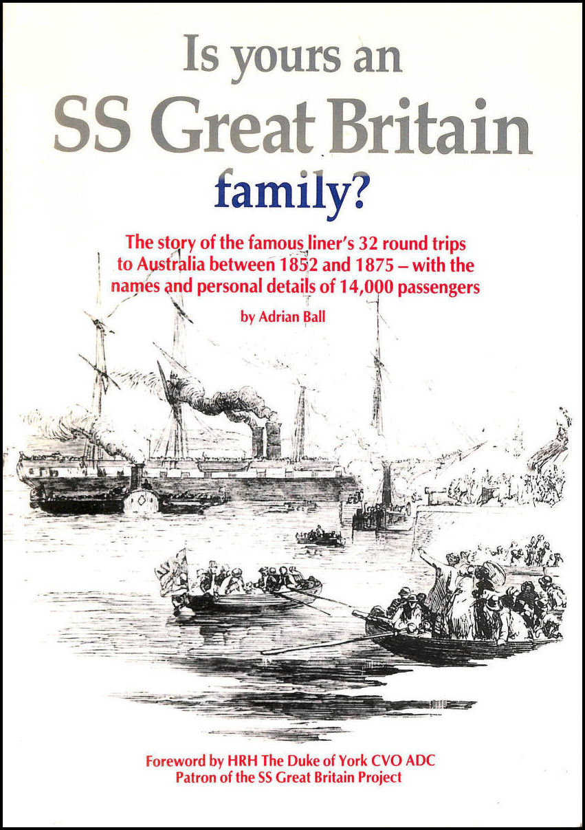 Image for Is yours an S. S. Great Britain Family?
