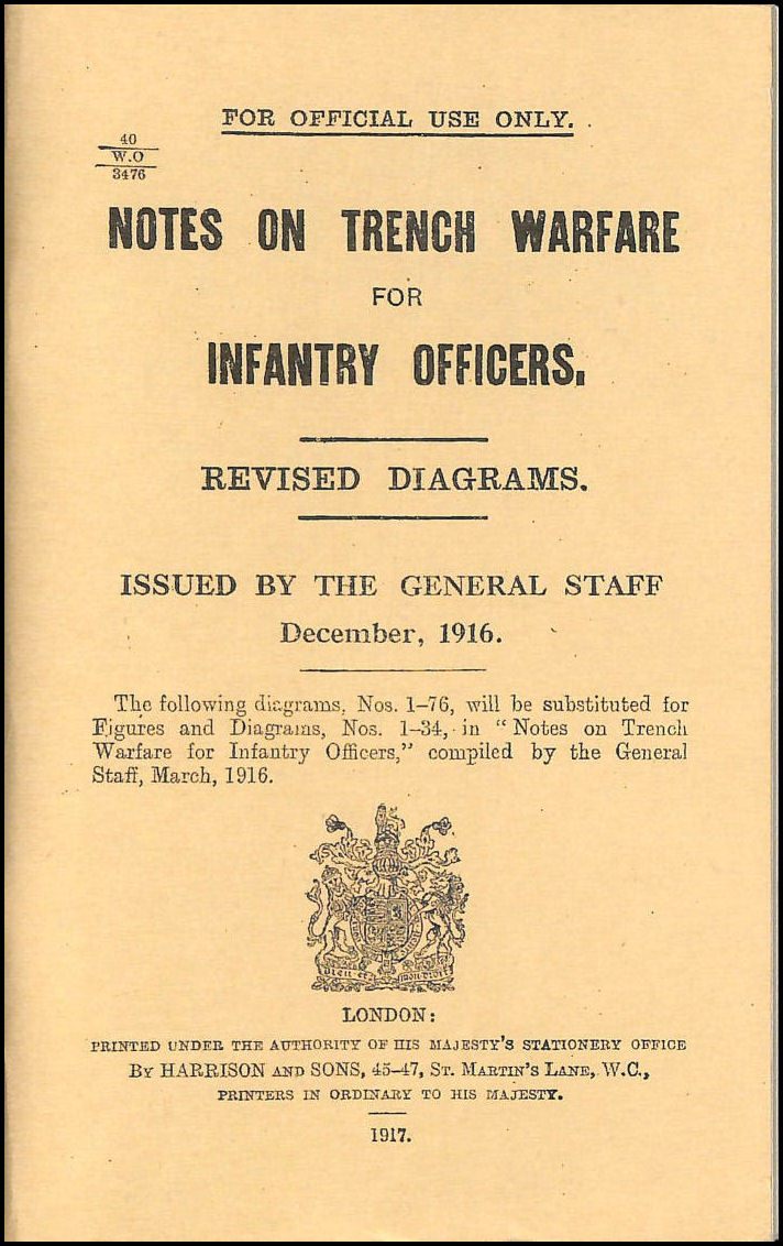 Image for Notes on Trench Warfare for Infantry Officers 1916