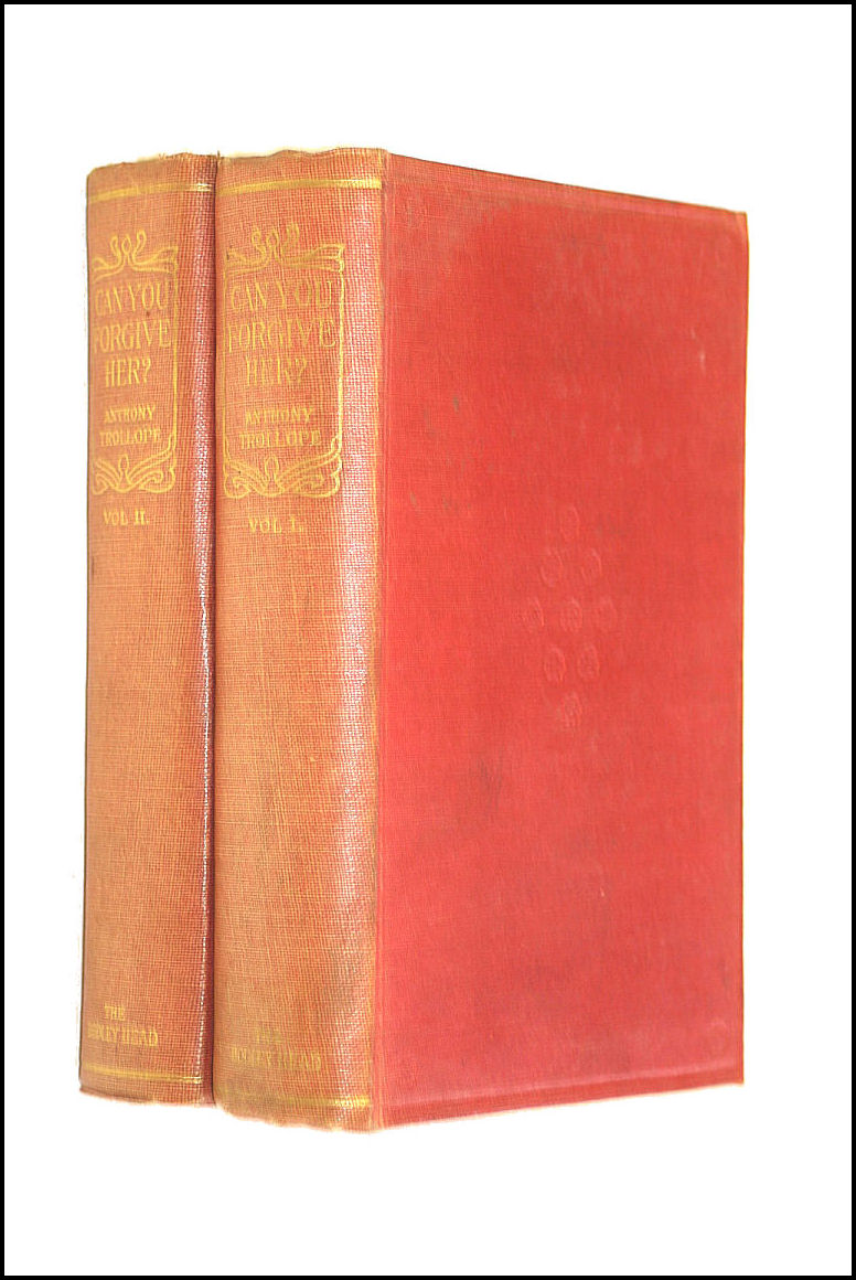 Can You Forgive Her? (The New Pocket Library) - Two Volume Set, Anthony Trollope