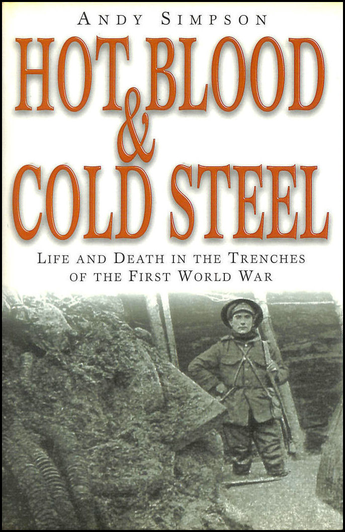 Image for Hot Blood and Cold Steel: Life and Death in the Trenches of the First World War
