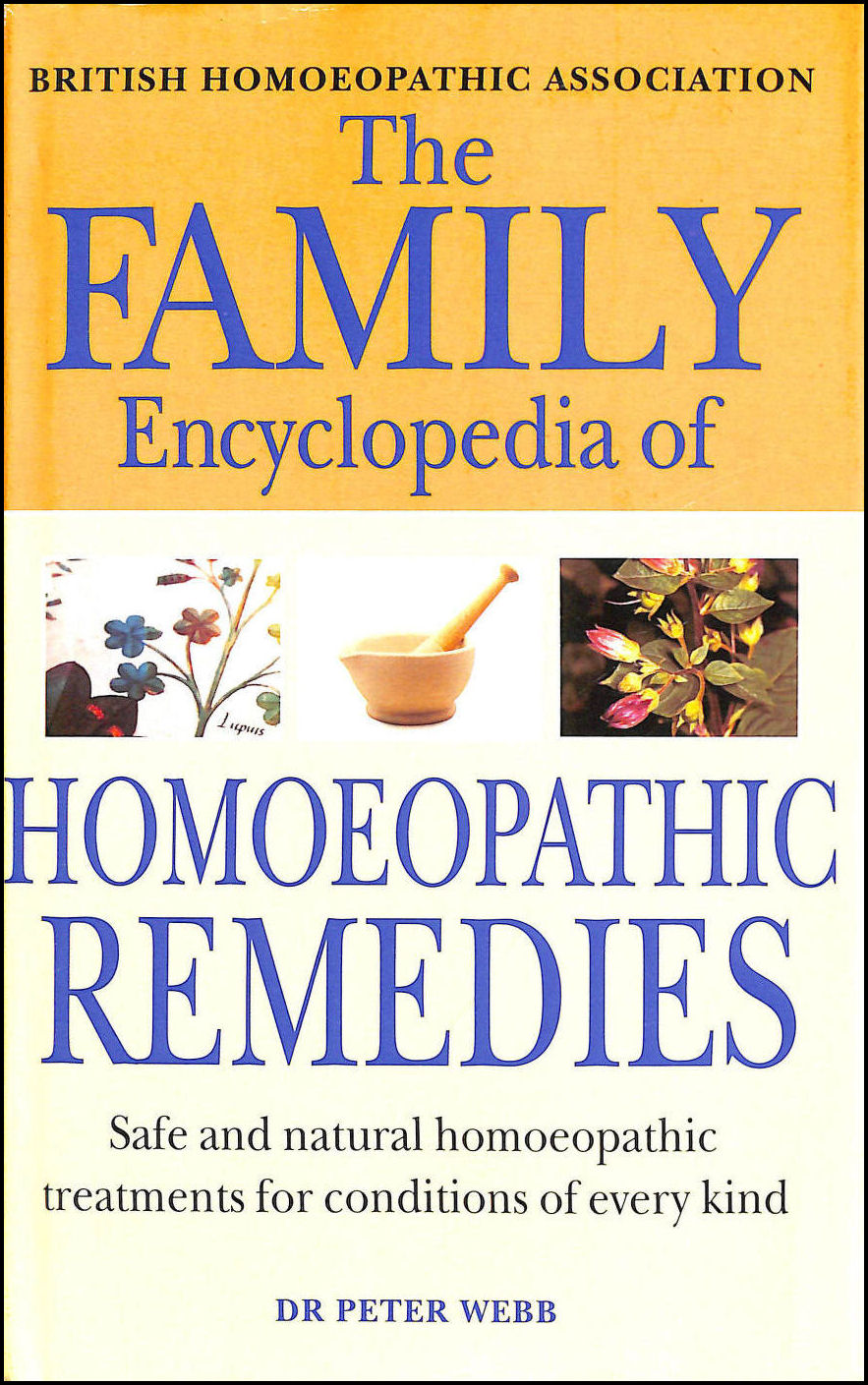 Image for Family Encyclopedia Of Homoeopathic Remedies