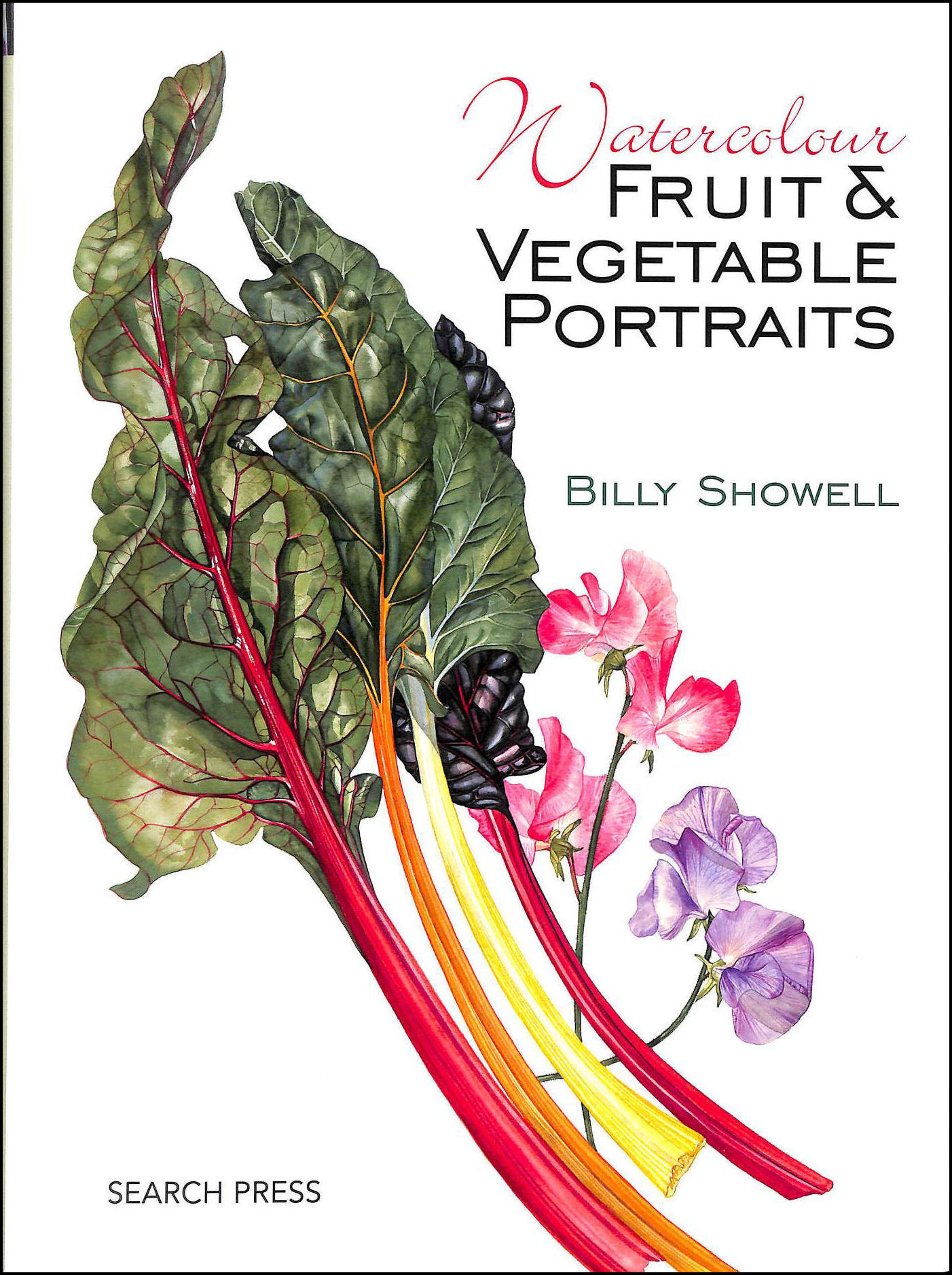 Watercolour Fruit And Vegetable Portraits, Billy Showell