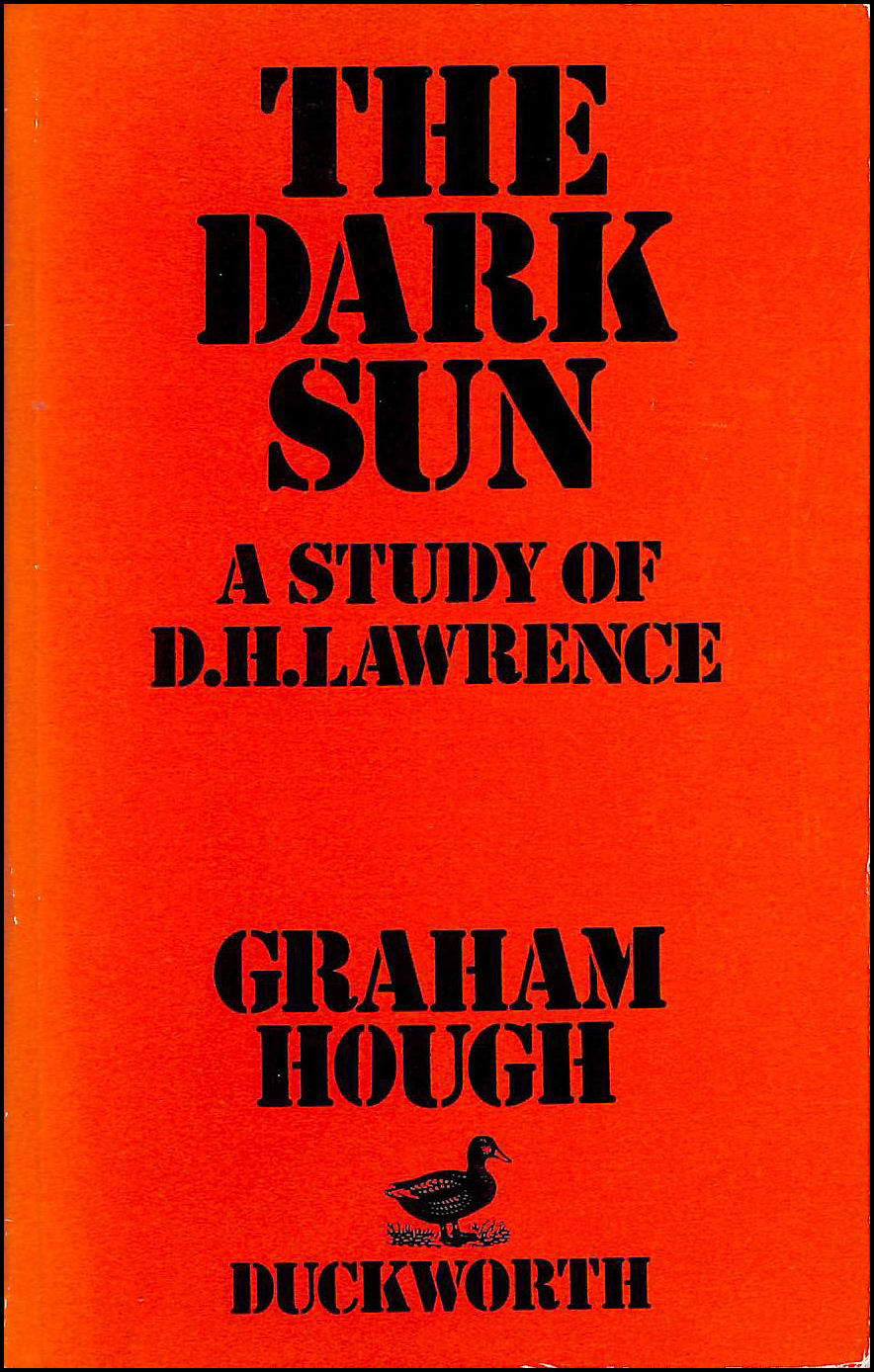 Image for Dark Sun: A Critical Study of D.H. Lawrence