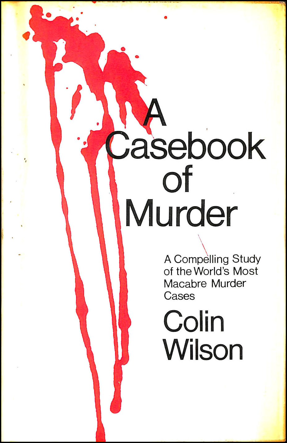 Image for A Casebook of Murder