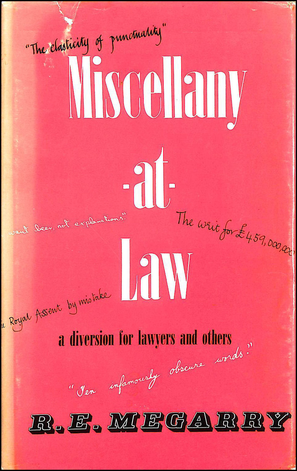Miscellany at Law: A Diversion for Layers and Others, Megarry, Robert