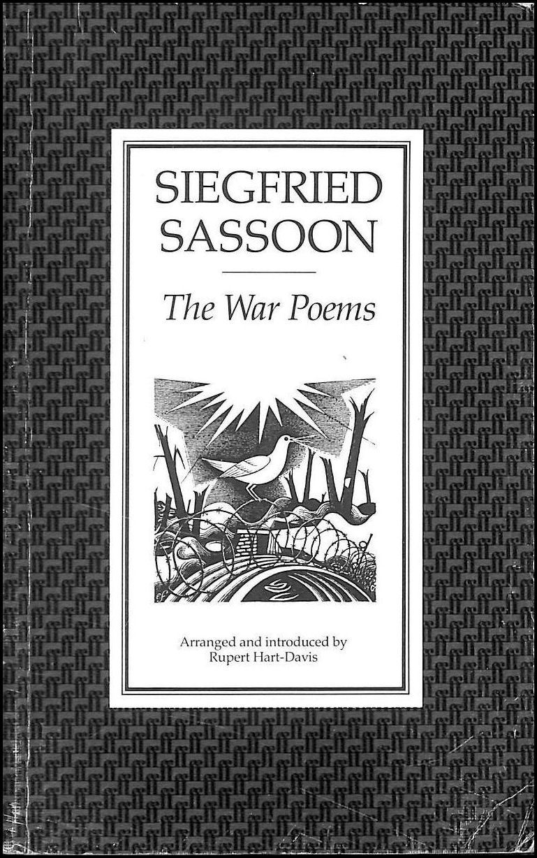 a comparison of soldier poets rupert brooke and siegfried sassoon on experiences of war and their po Start studying lit 3 learn vocabulary, terms, and more with flashcards, games, and other study tools.
