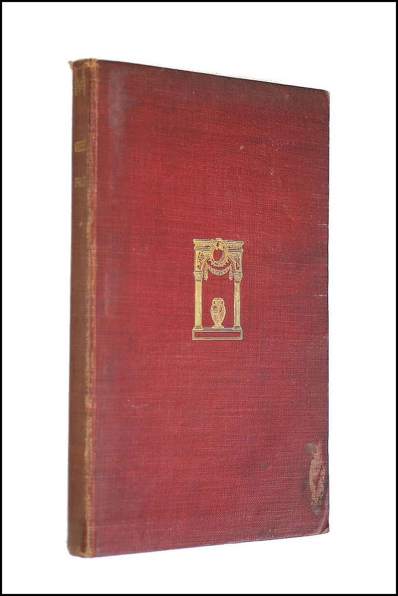Faustus. A dramatic mystery. Translated by J. Anster, Johann Wolfgang von Goethe; John Anster