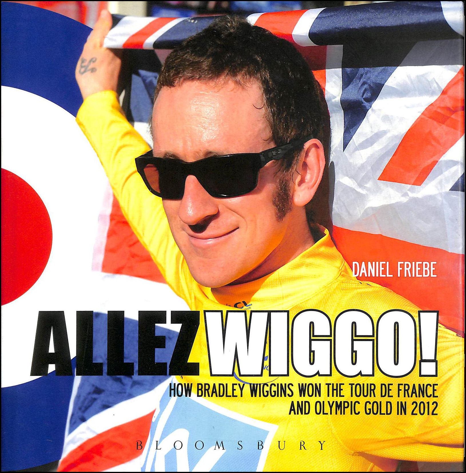 Image for Allez Wiggo!: How Bradley Wiggins won the Tour de France and Olympic Gold in 2012