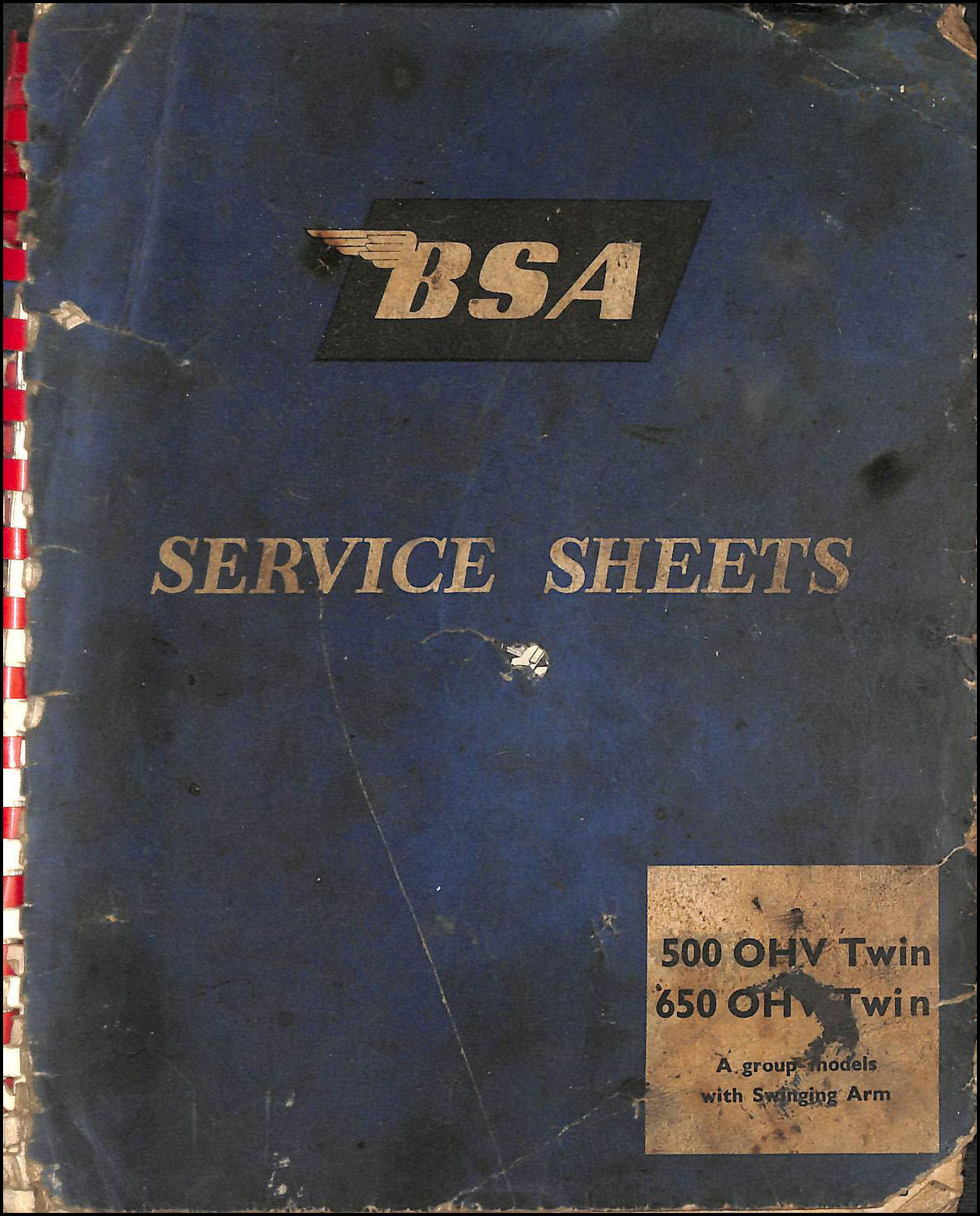 Image for BSA Service Sheets - 500 OHV Twin, 650 OHV Twin