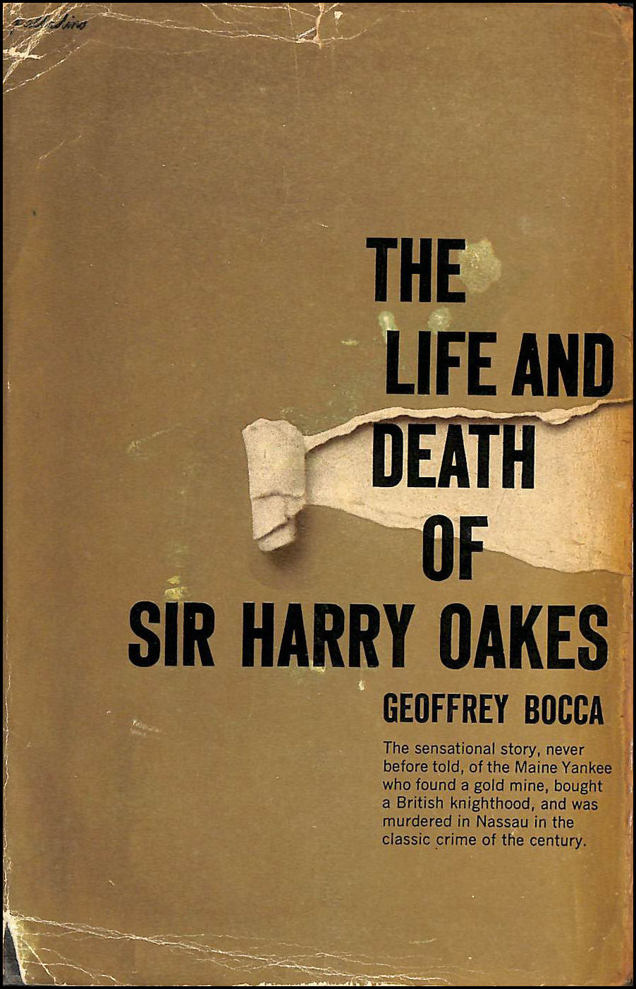 The Life And Death Of Harry Oakes, Bocca, Geoffrey