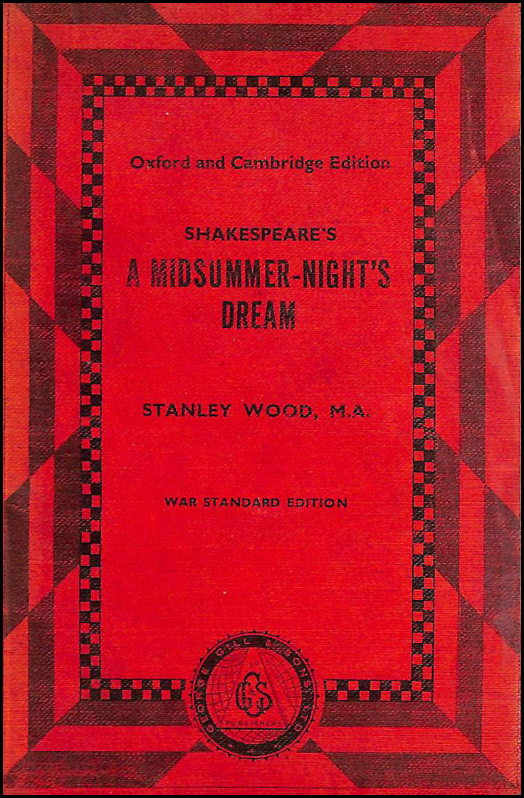 Image for A Midsummer-Night's Dream