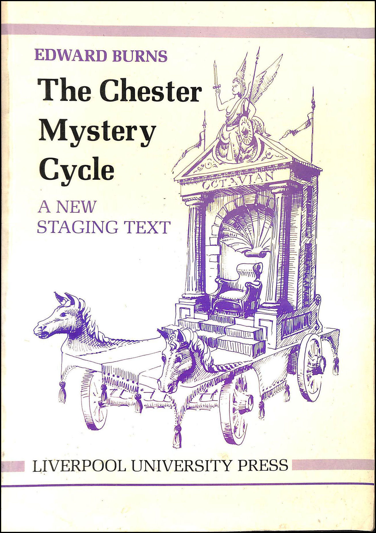 The Chester Mystery Cycle: New Staging Text, Burns, Edward; Burns [Editor]