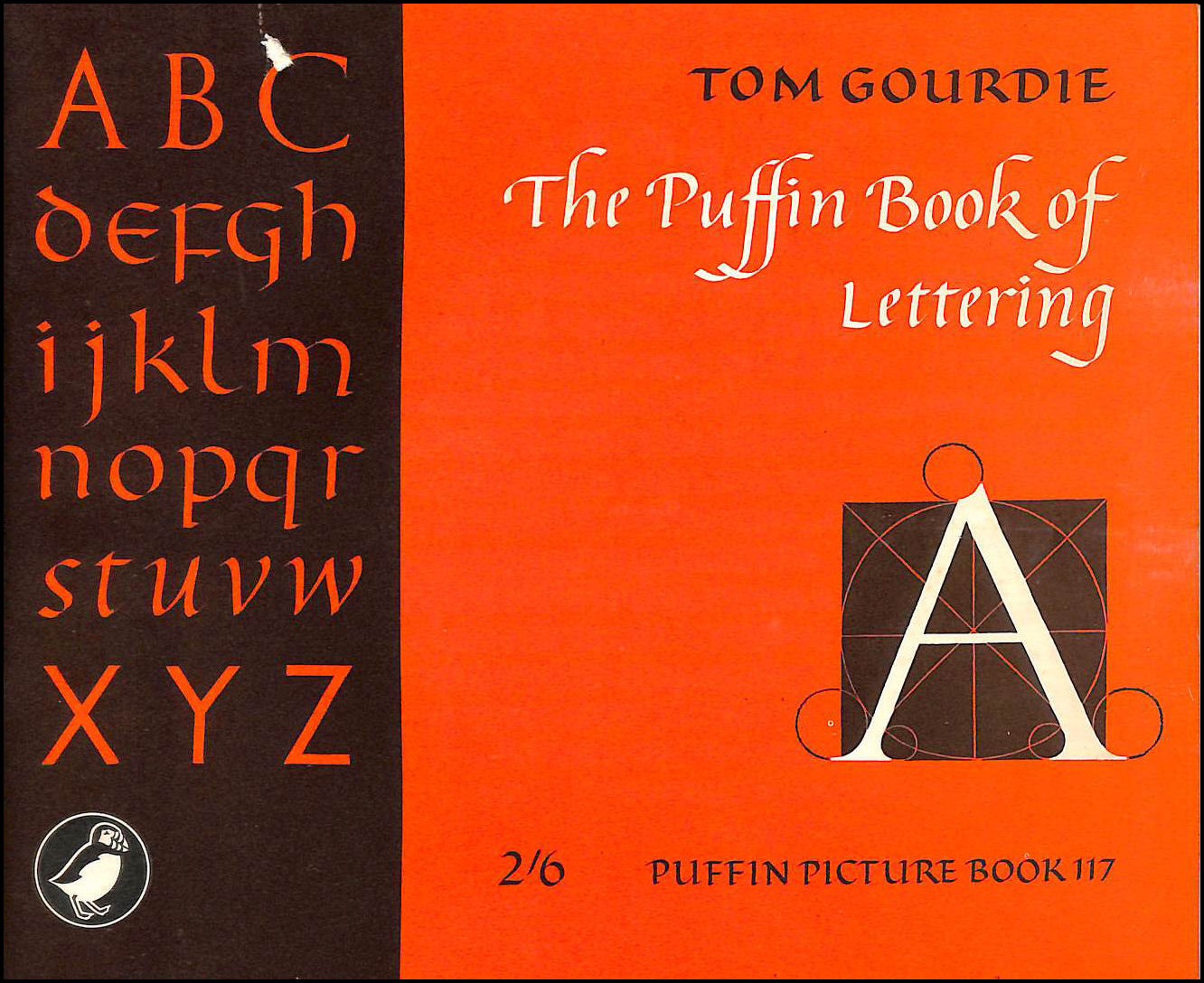 The Puffin Book of Lettering, Gourdie, Tom