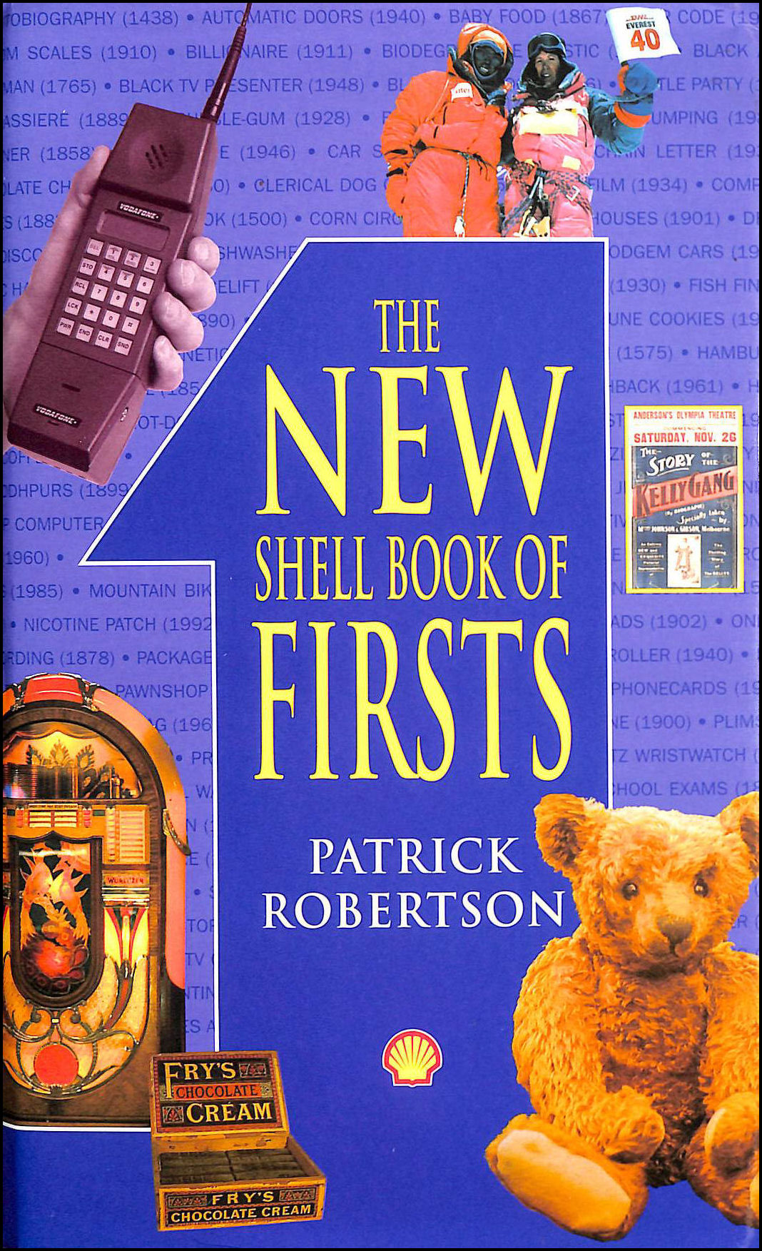 New Shell Book of Firsts, Robertson, Patrick