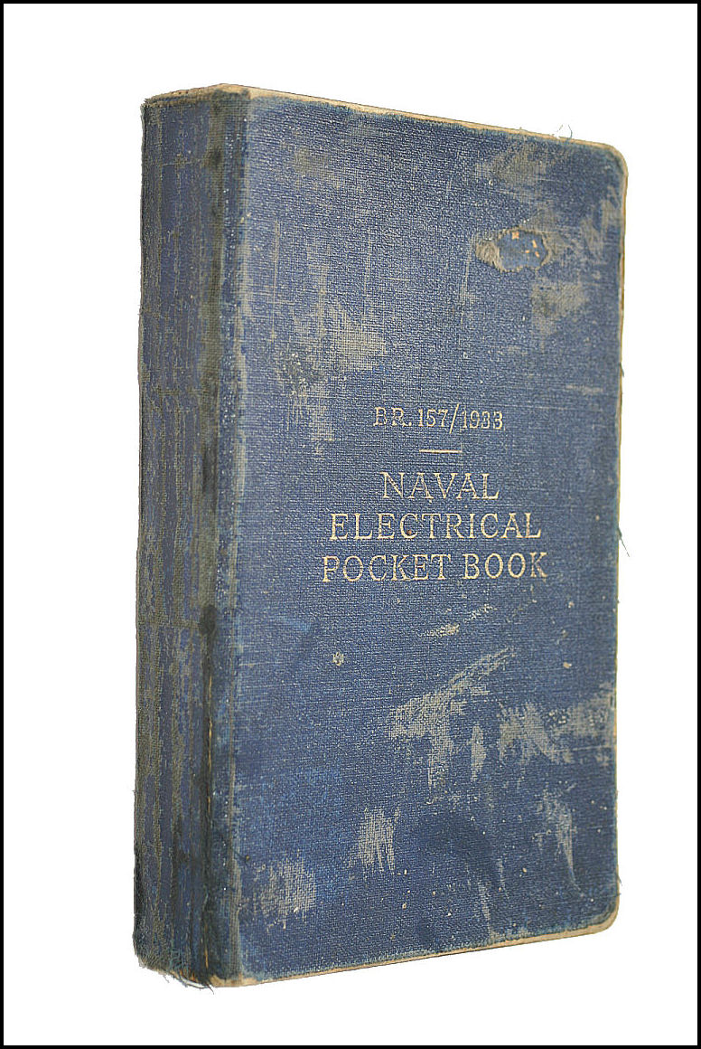 Image for Naval Electrical Pocket Book, B.R. 157/1933