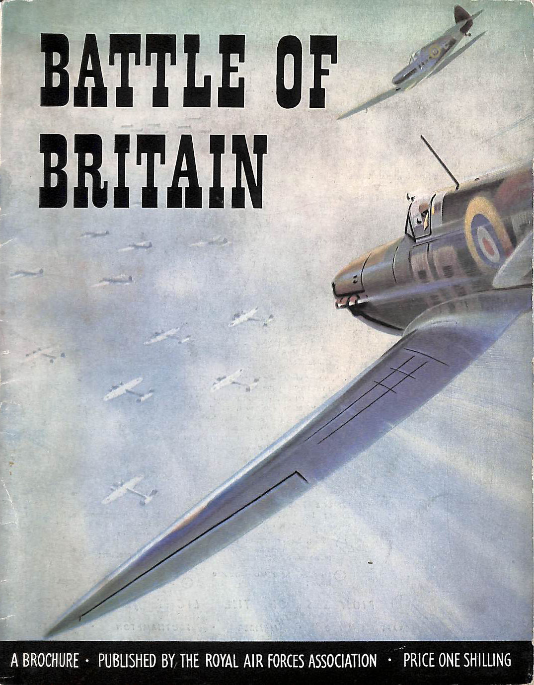 Image for Battle Of Britain : A Brochure To Commemorate The 15Th Anniversary.