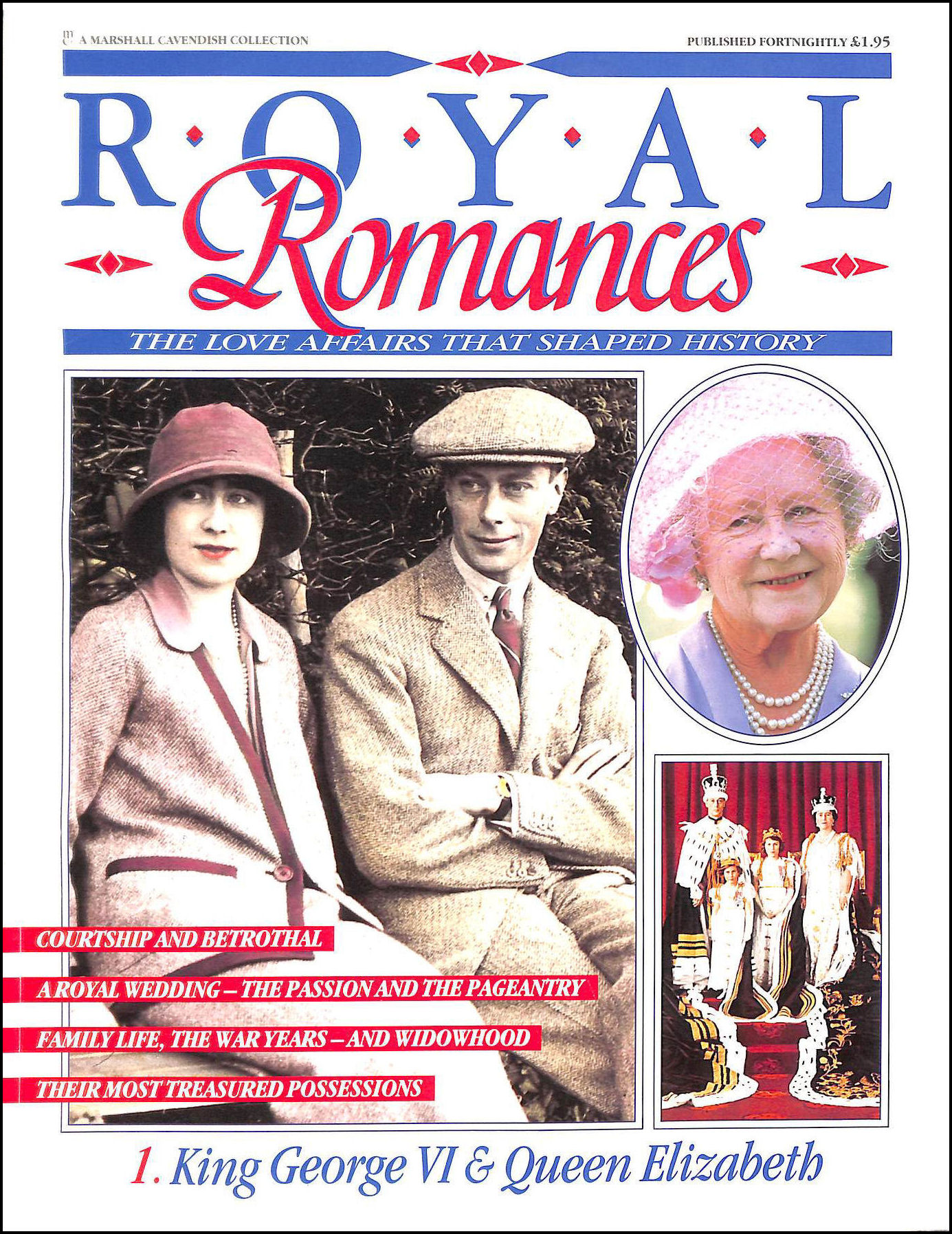 Image for Royal Romances No 1. King George VI and Queen Elizabeth (Royal Romances)