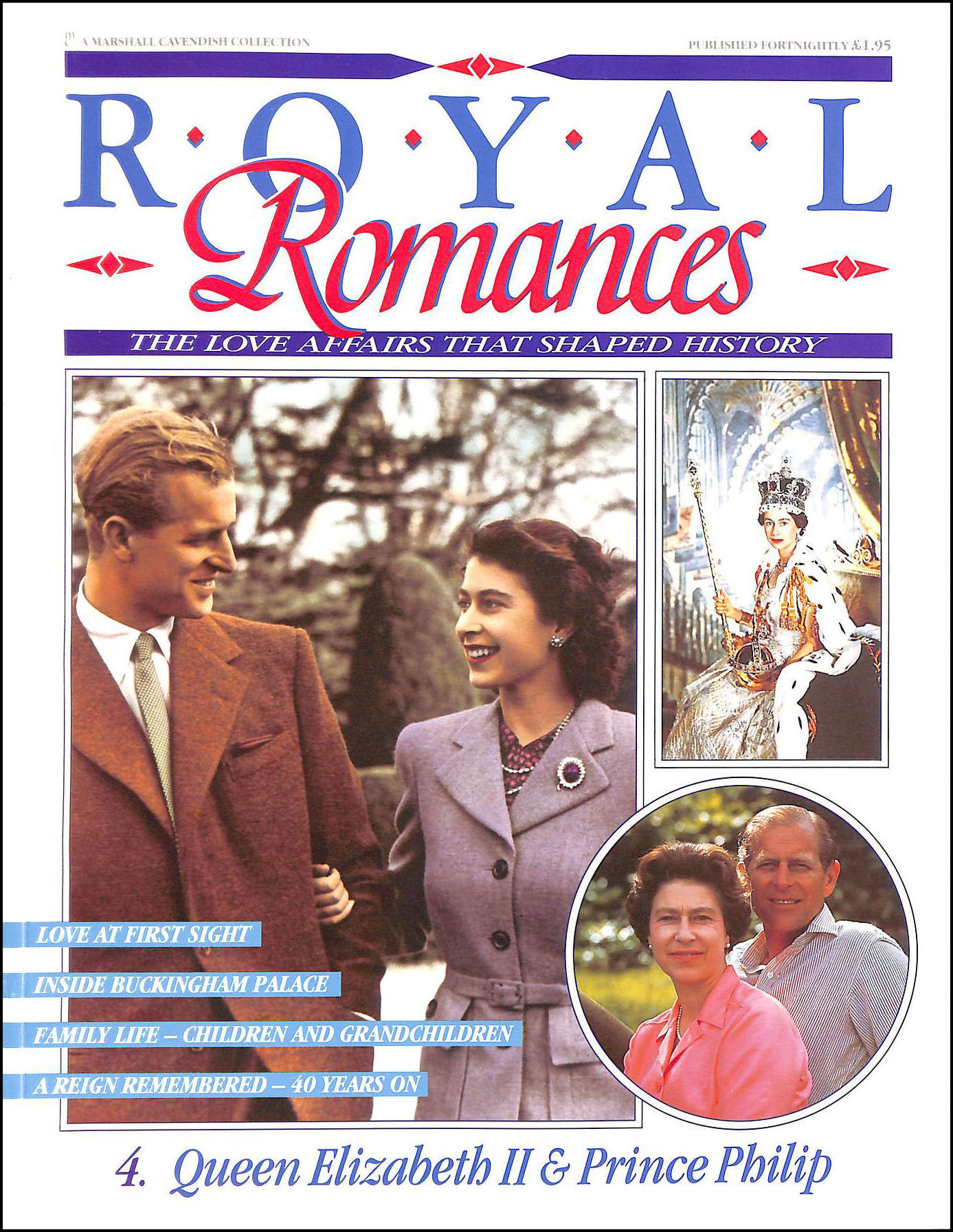 Image for Royal Romances - Queen Elizabeth II and Prince Philip