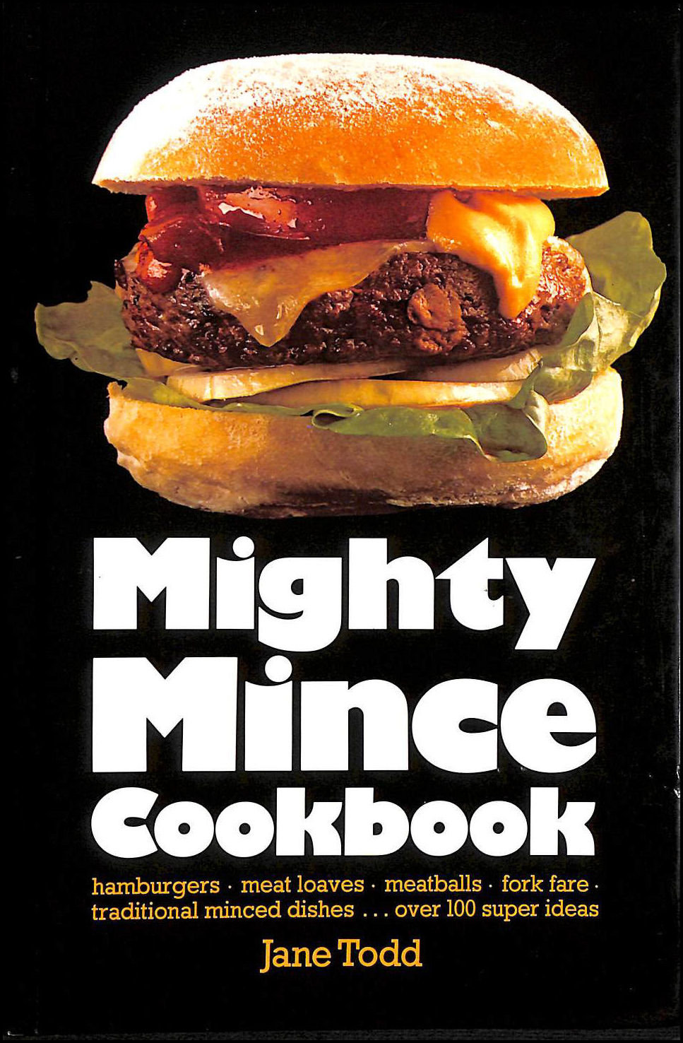 Mighty Mince Cook Book, Todd, Jane
