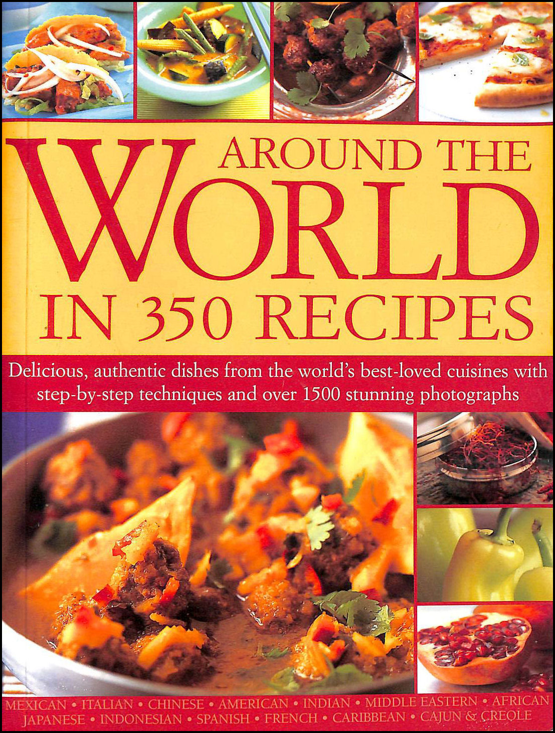 Around The World In 350 Recipes, Fraser; Linda