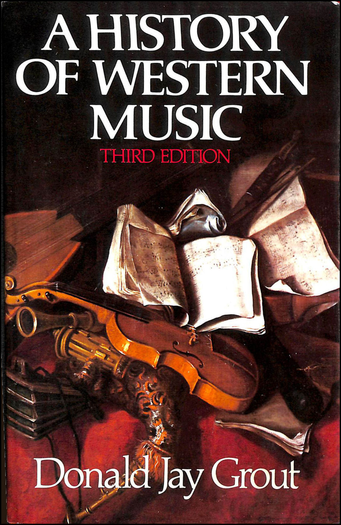 Image for A History of Western Music