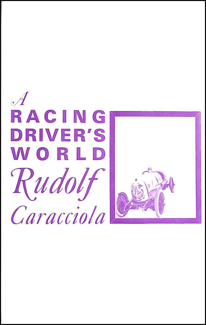 Image for A Racing Driver's World