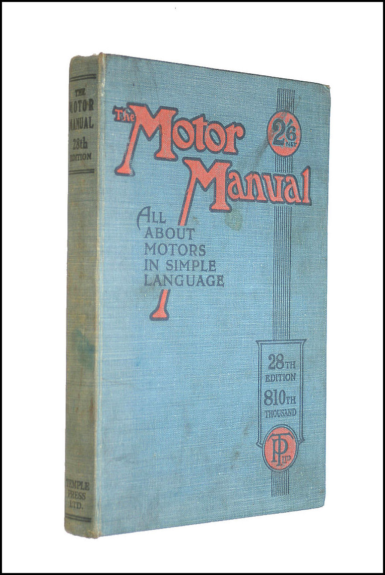 The Motor Manual 28th Edition, Anon