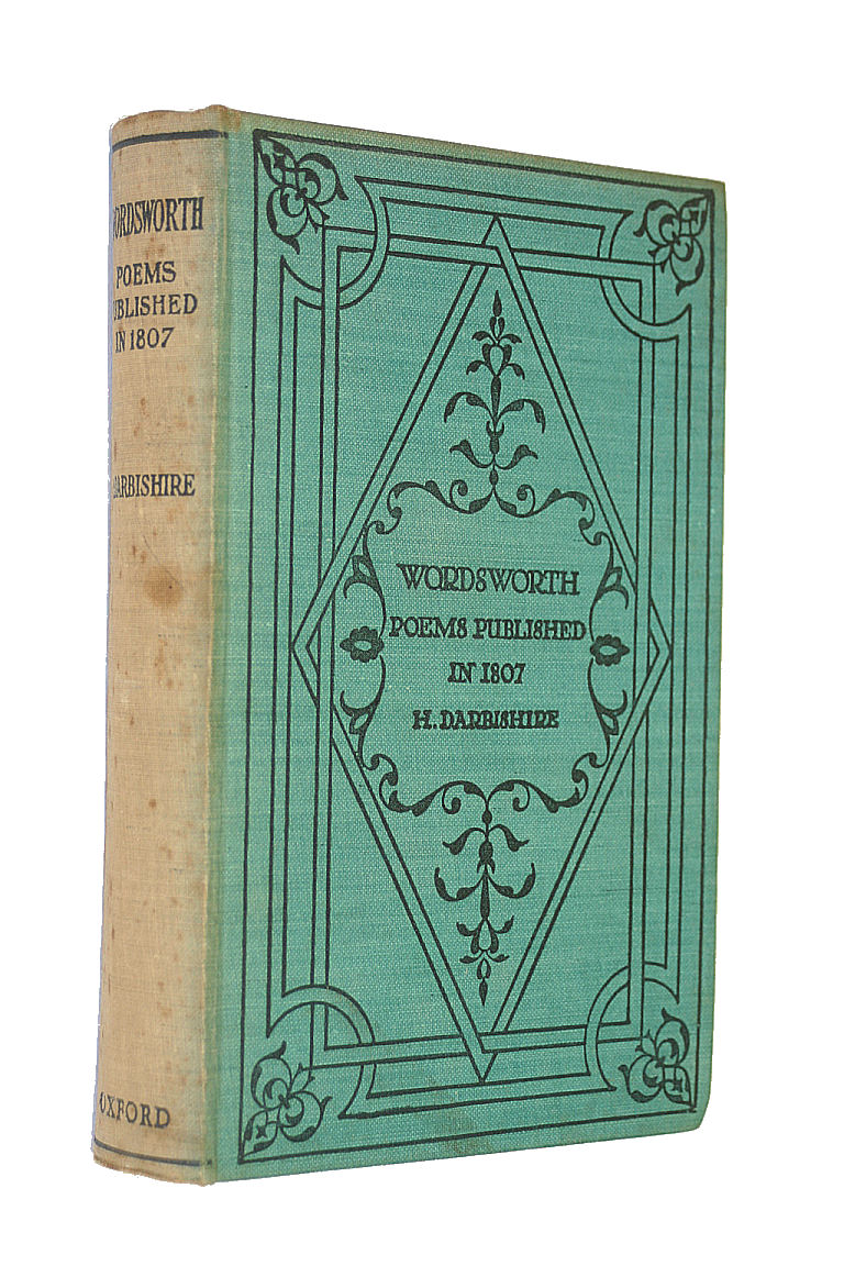 Poems in Two Volumes, 1807, William Wordsworth
