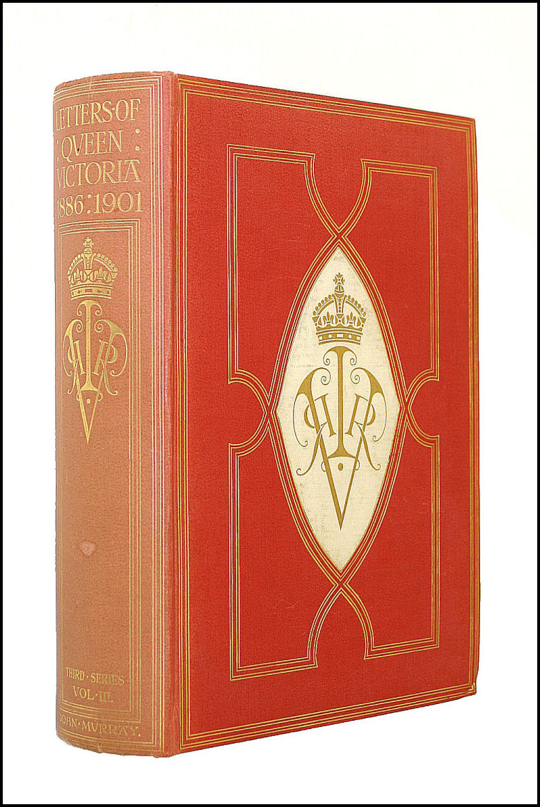 The Letters Of Queen Victoria Third Series Vol. III 1896-1901, George Earl Buckle (ed)