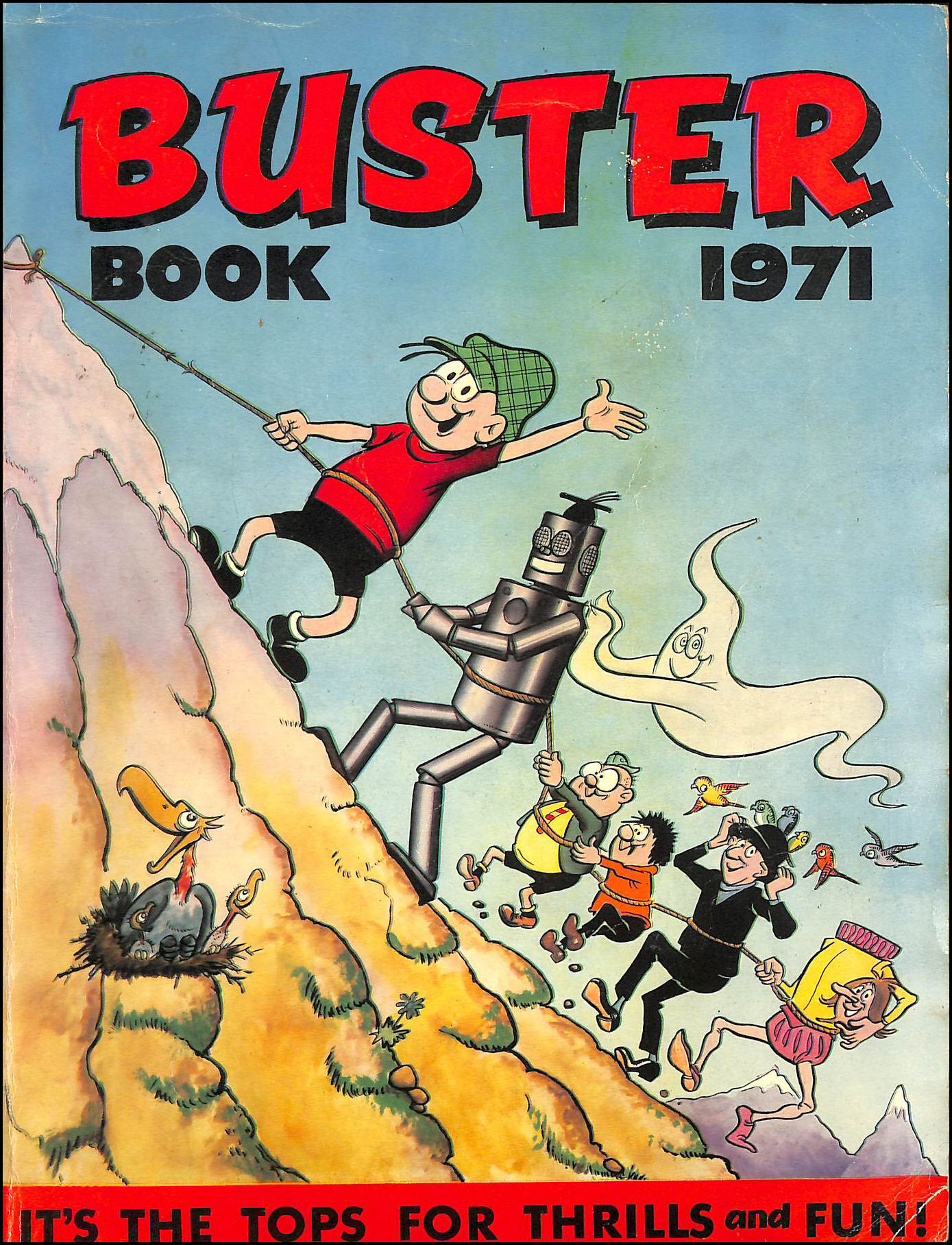 Image for Buster book 1971