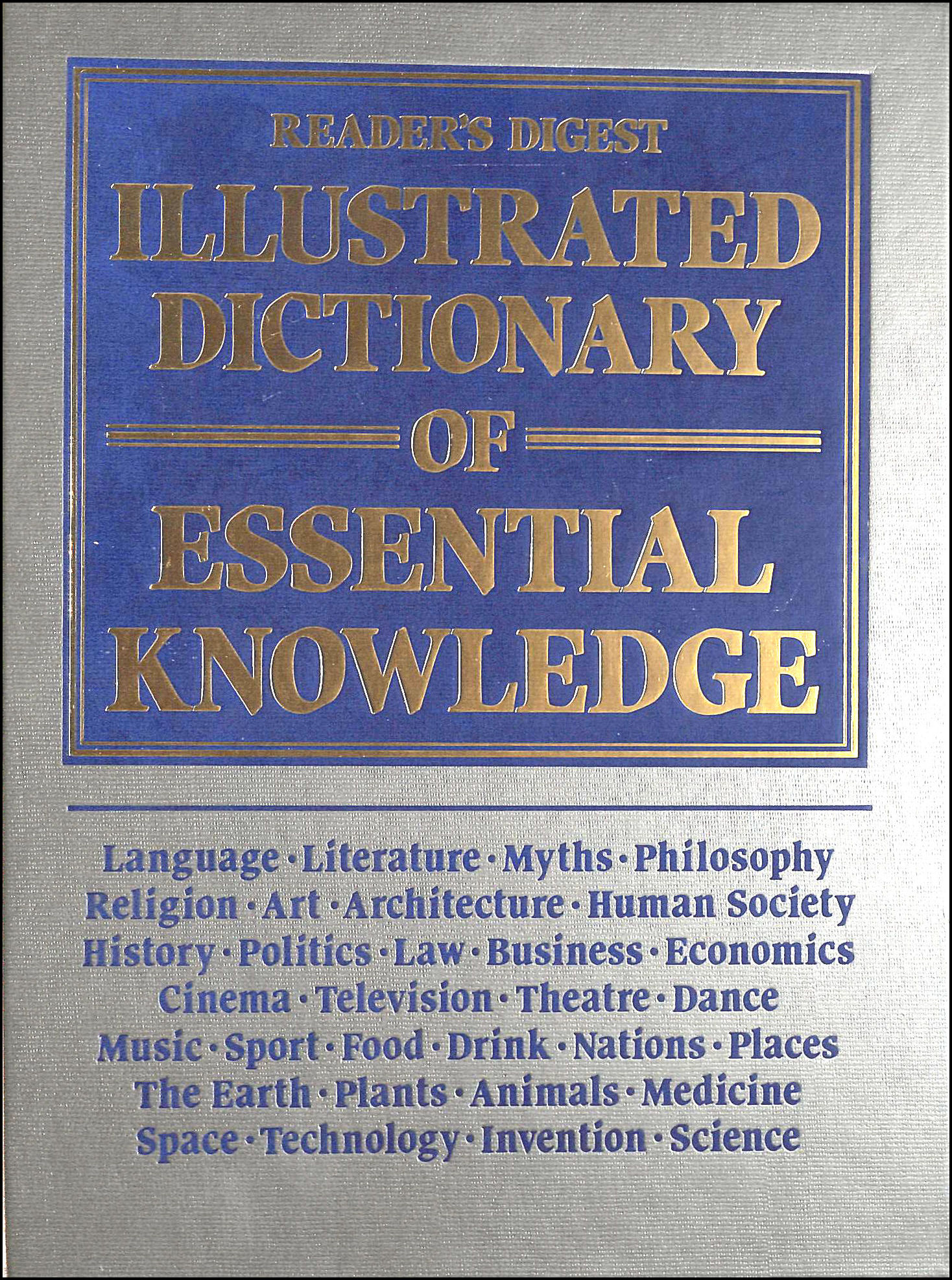 Image for Illustrated Dictionary of Essential Knowledge