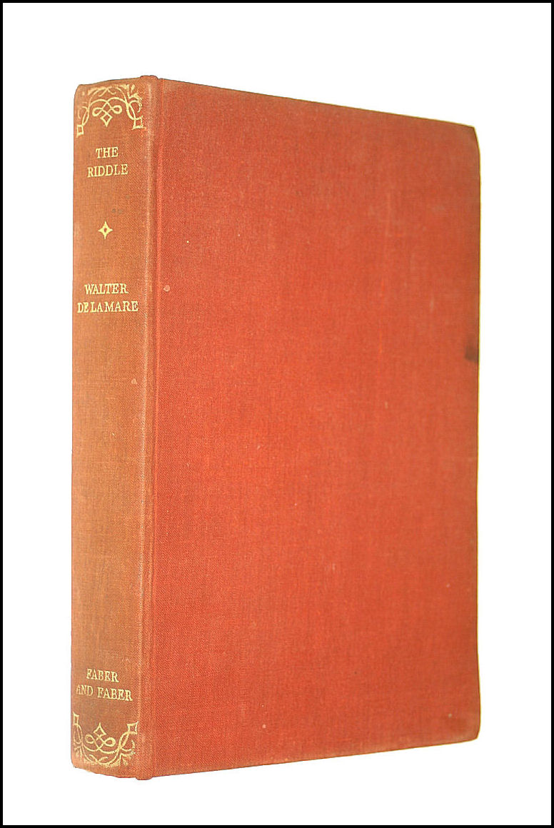 The Riddle and Other Stories., Walter De La Mare