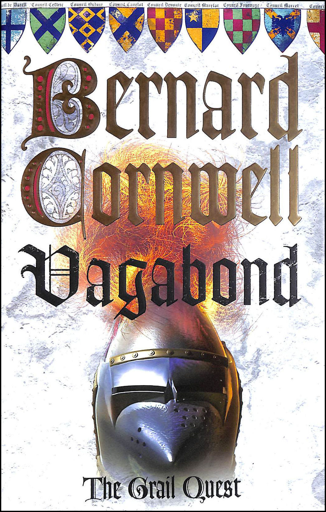 Vagabond, The Grail Quest, Cornwell, Bernard
