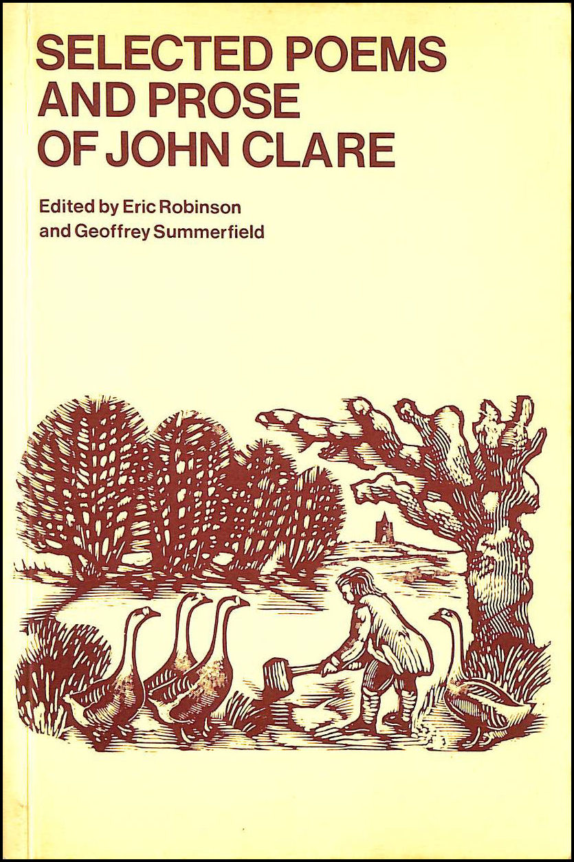 Selected Poems and Prose of John Clare (Oxford Paperbacks), Clare, John; Gentleman, David; Eric Robinson; Geoffrey Summerfield