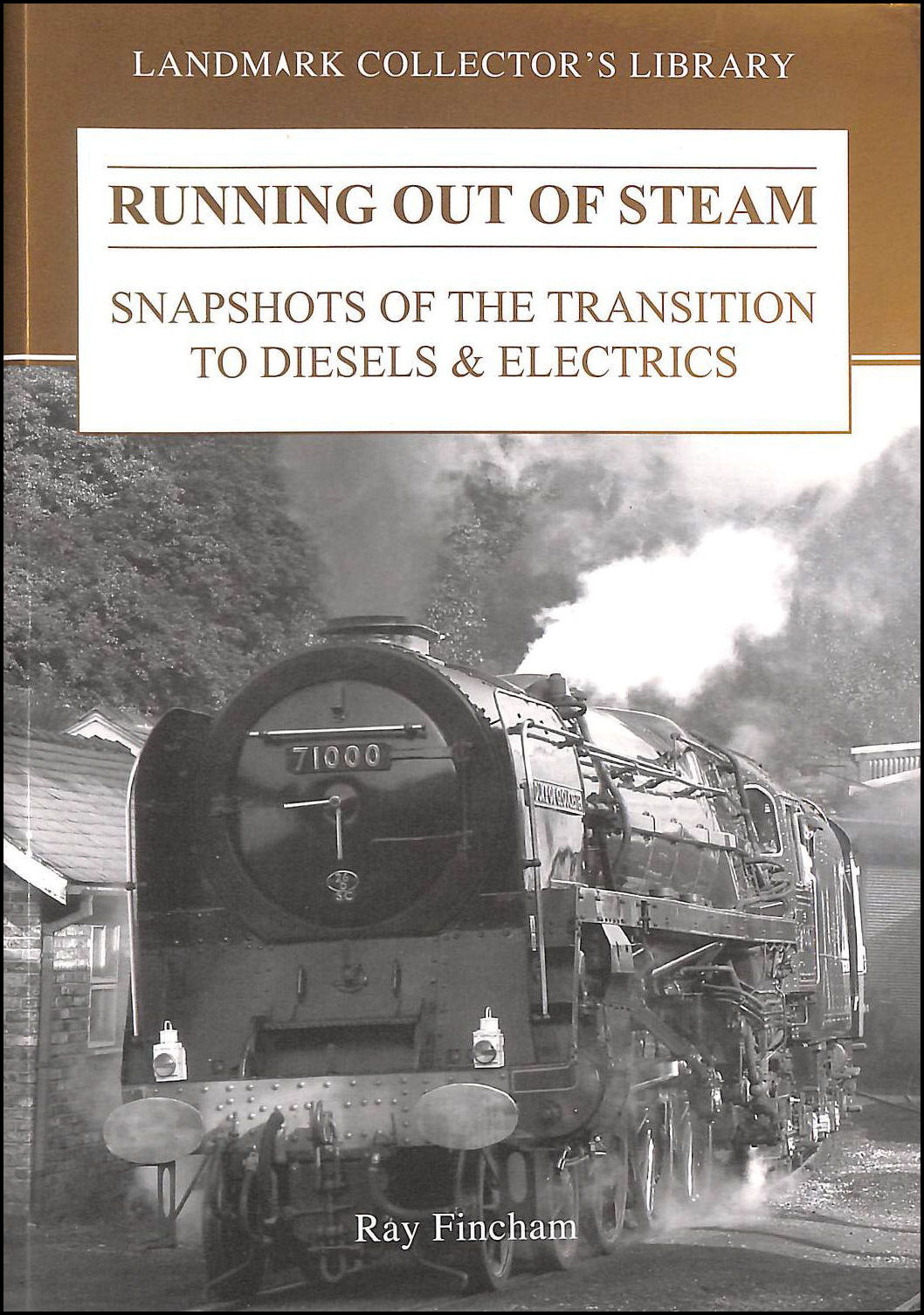 Running Out of Steam: Snapshots of the Transition to Diesels and Electrics, Fincham, Ray