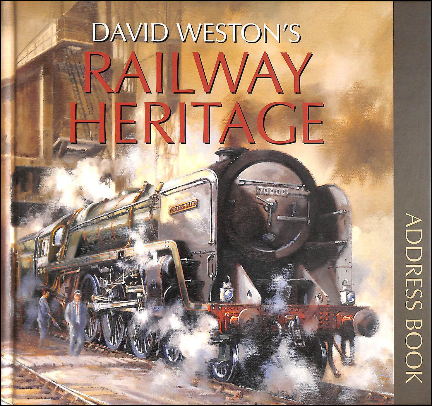 Image for David Weston's Railway Heritage Address Book