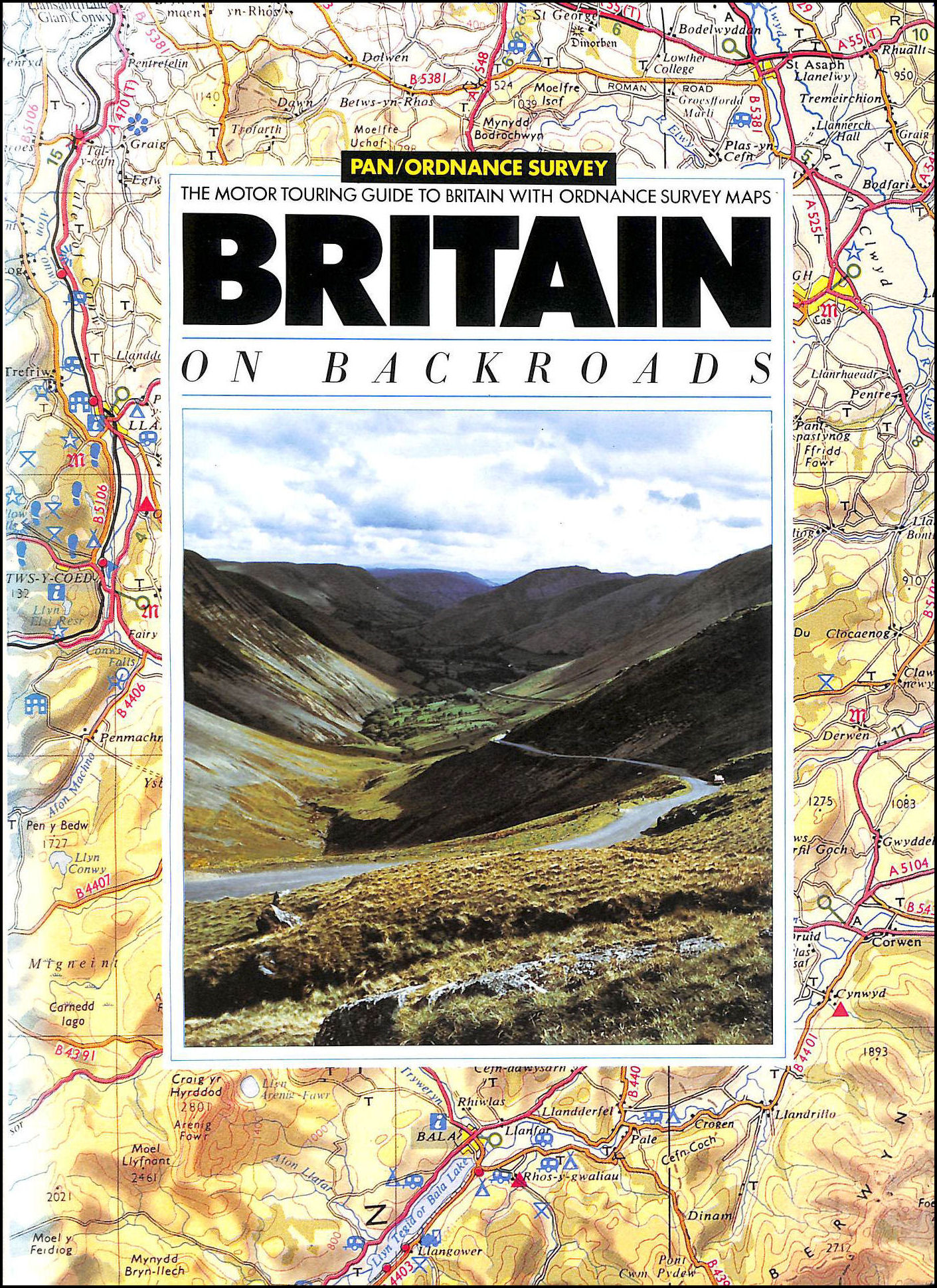 Image for Britain on Backroads, The Motor Touring Guide with Ordnance Survey Maps