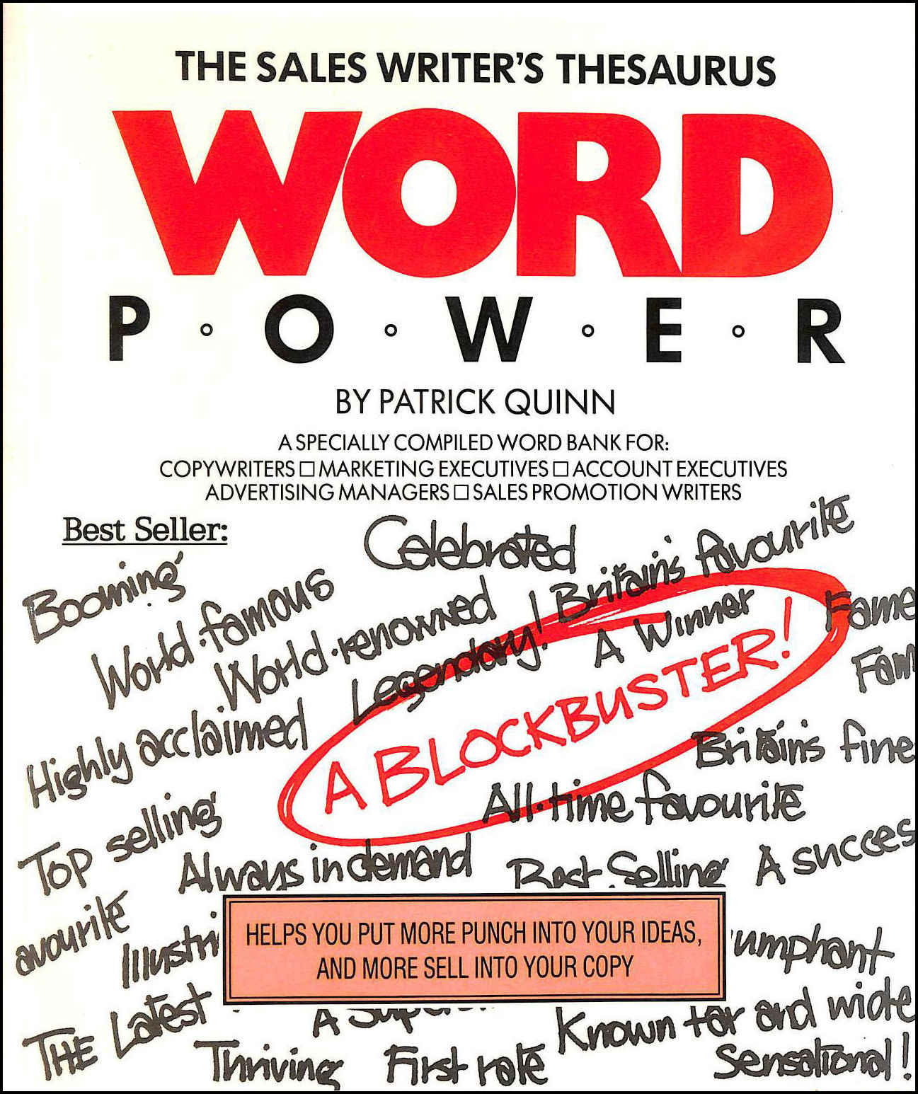 Image for Sales Writer's Thesaurus: Word Power