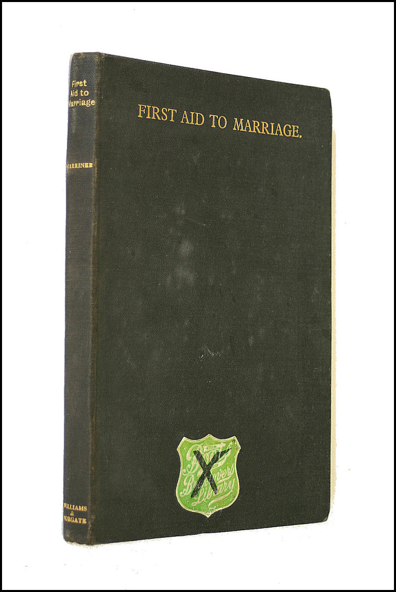Image for First Aid to Marriage, etc