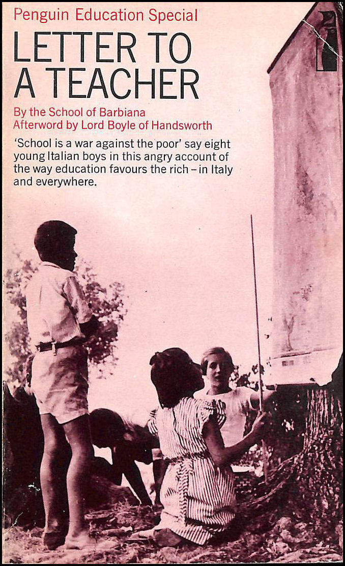 Letter to a Teacher, Rossi, Nora [Translator]; Cole: with an afterword by Lord Boyle of Handsworth, Tom [Translator];