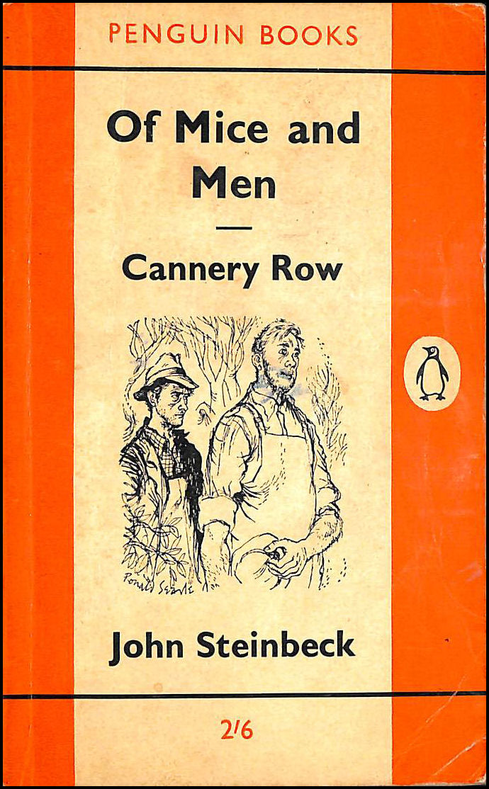 Of Mice and Men, Cannery Row, Steinbeck, John