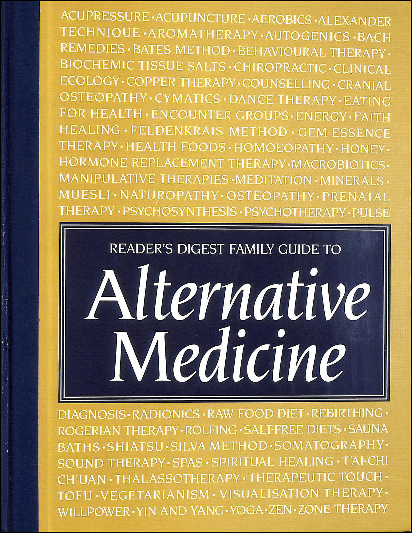 Image for Reader's Digest Family Guide To Alternative Medicine