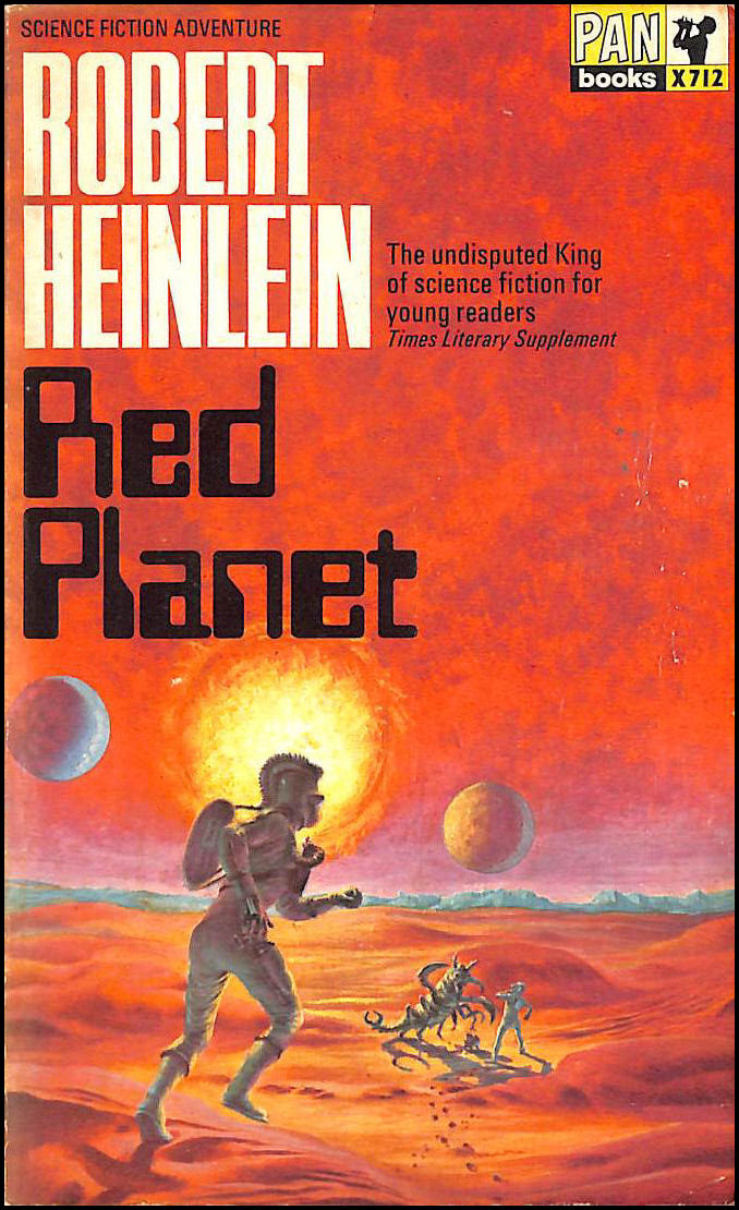 Red Planet. Illustrated by Clifford Geary, Robert A. Heinlein