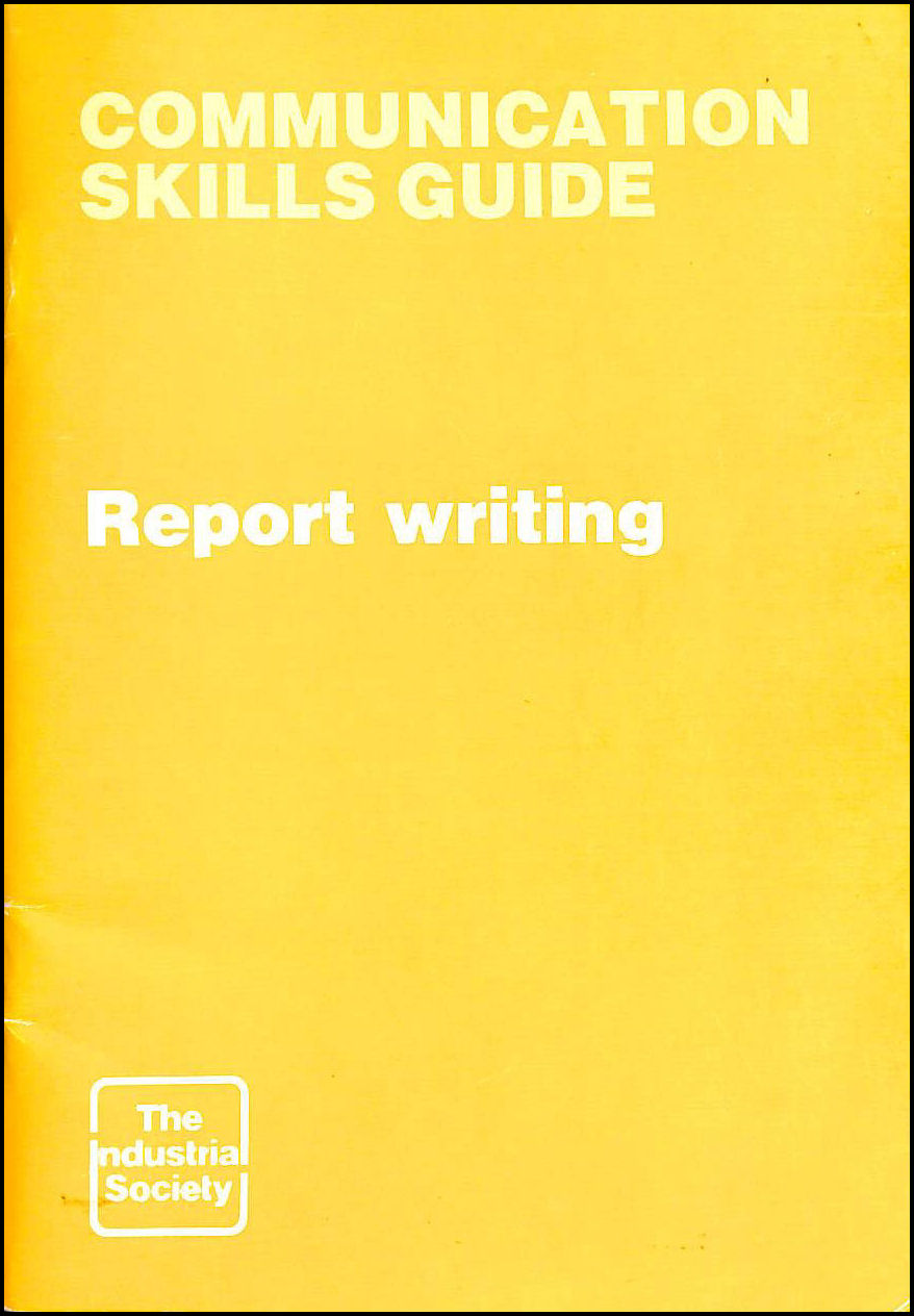 Image for Guide to Report Writing