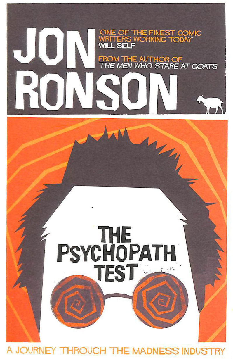 The Psychopath Test, Ronson, Jon