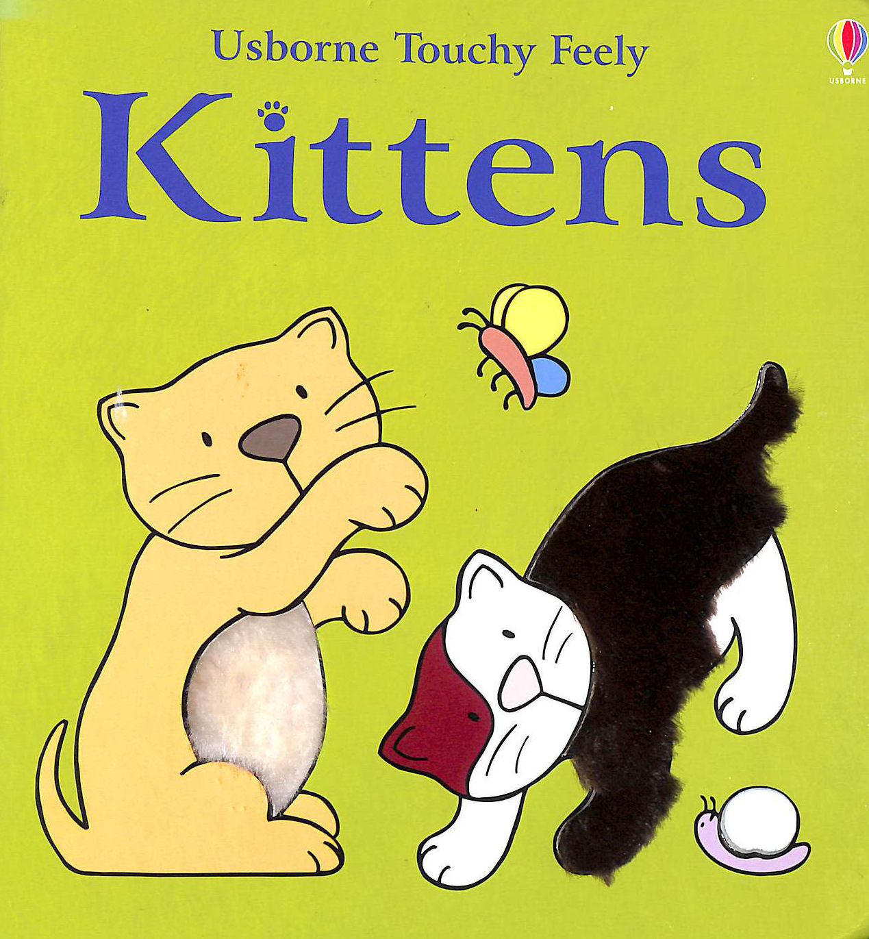Image for The Usborne Big Touchy Feely Book of Kittens (Touchy-Feely Board Books)
