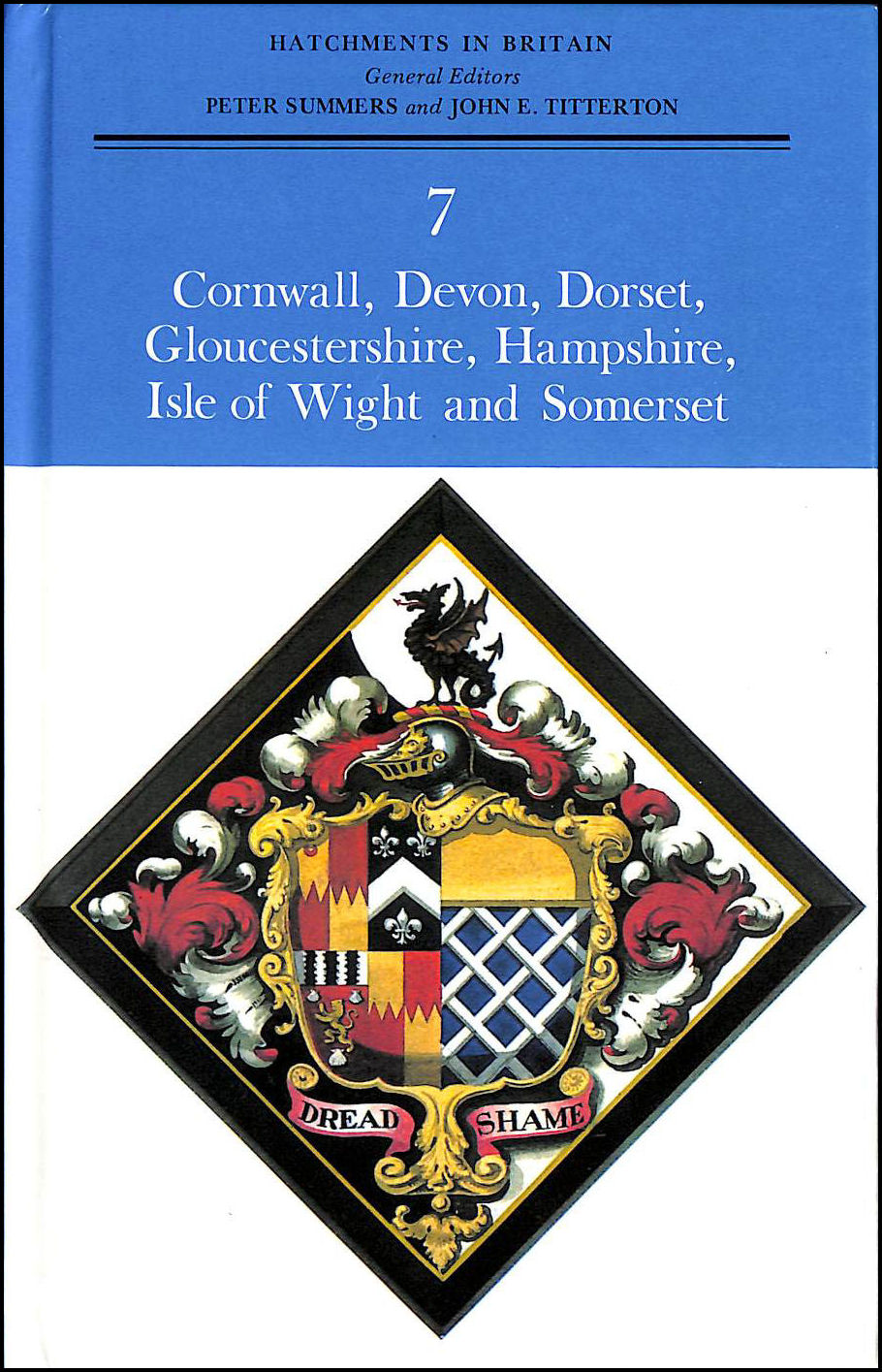 Image for Domesday Book Hatchments in Britain Vol.7 Cornwall, Devon, Dorset, Somerset, Hampshire, Isle of Wight, Gloucestershire